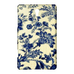 Vintage Blue Drawings On Fabric Samsung Galaxy Tab S (8 4 ) Hardshell Case