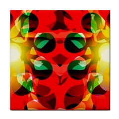 Abstract Digital Design Tile Coasters