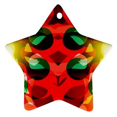 Abstract Digital Design Ornament (star)