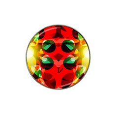 Abstract Digital Design Hat Clip Ball Marker