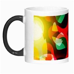 Abstract Digital Design Morph Mugs