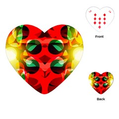Abstract Digital Design Playing Cards (heart)