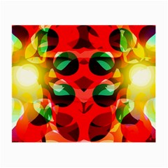 Abstract Digital Design Small Glasses Cloth (2 Side)