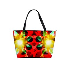 Abstract Digital Design Shoulder Handbags