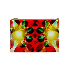 Abstract Digital Design Cosmetic Bag (medium)