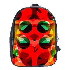 Abstract Digital Design School Bags(large)