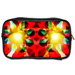 Abstract Digital Design Toiletries Bags 2-Side
