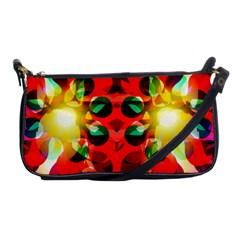 Abstract Digital Design Shoulder Clutch Bags
