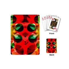Abstract Digital Design Playing Cards (Mini)