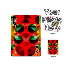 Abstract Digital Design Playing Cards 54 (Mini)