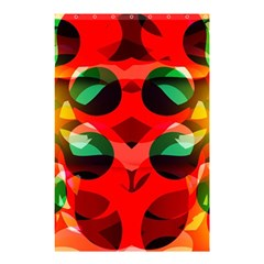 Abstract Digital Design Shower Curtain 48  X 72  (small)