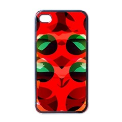 Abstract Digital Design Apple Iphone 4 Case (black)