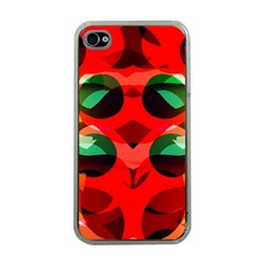 Abstract Digital Design Apple Iphone 4 Case (clear)