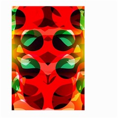 Abstract Digital Design Large Garden Flag (two Sides)