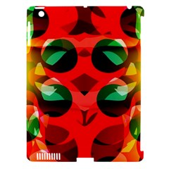 Abstract Digital Design Apple Ipad 3/4 Hardshell Case (compatible With Smart Cover)
