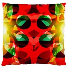 Abstract Digital Design Large Cushion Case (one Side)