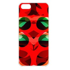 Abstract Digital Design Apple Iphone 5 Seamless Case (white)