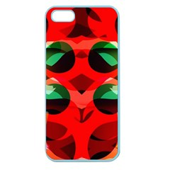 Abstract Digital Design Apple Seamless Iphone 5 Case (color)