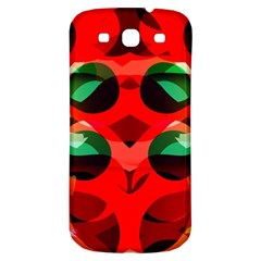 Abstract Digital Design Samsung Galaxy S3 S Iii Classic Hardshell Back Case