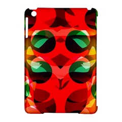 Abstract Digital Design Apple Ipad Mini Hardshell Case (compatible With Smart Cover)