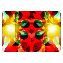 Abstract Digital Design Samsung Galaxy Tab 8 9  P7300 Flip Case