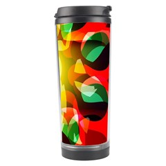 Abstract Digital Design Travel Tumbler