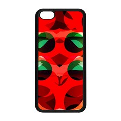Abstract Digital Design Apple Iphone 5c Seamless Case (black)