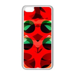 Abstract Digital Design Apple Iphone 5c Seamless Case (white)