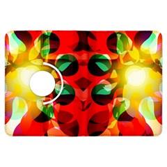 Abstract Digital Design Kindle Fire Hdx Flip 360 Case