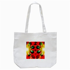 Abstract Digital Design Tote Bag (white)
