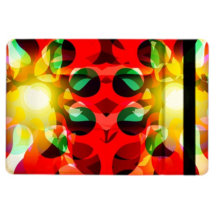 Abstract Digital Design iPad Air 2 Flip