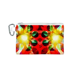 Abstract Digital Design Canvas Cosmetic Bag (s)