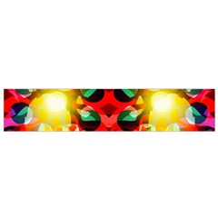 Abstract Digital Design Flano Scarf (Small)