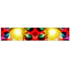 Abstract Digital Design Flano Scarf (large)