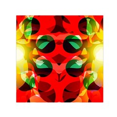 Abstract Digital Design Small Satin Scarf (square)