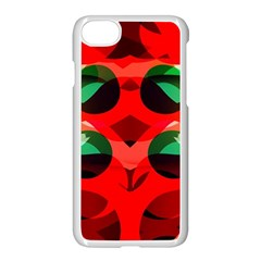Abstract Digital Design Apple Iphone 7 Seamless Case (white)