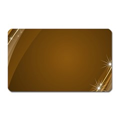 Abstract Background Magnet (rectangular)