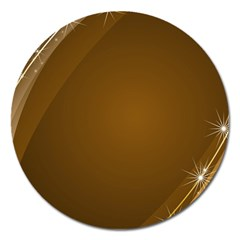 Abstract Background Magnet 5  (round)
