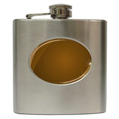 Abstract Background Hip Flask (6 Oz)