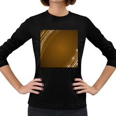 Abstract Background Women s Long Sleeve Dark T Shirts