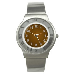 Abstract Background Stainless Steel Watch