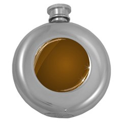 Abstract Background Round Hip Flask (5 Oz)