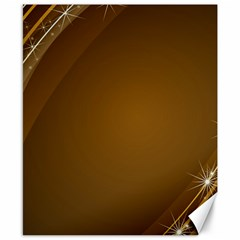 Abstract Background Canvas 8  X 10