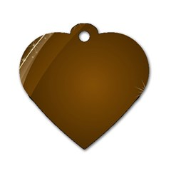 Abstract Background Dog Tag Heart (two Sides)