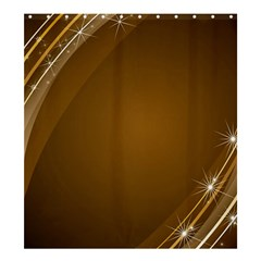 Abstract Background Shower Curtain 66  X 72  (large)