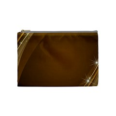 Abstract Background Cosmetic Bag (medium)