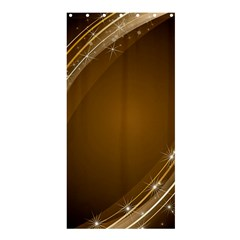 Abstract Background Shower Curtain 36  X 72  (stall)