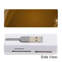 Abstract Background Memory Card Reader (stick)