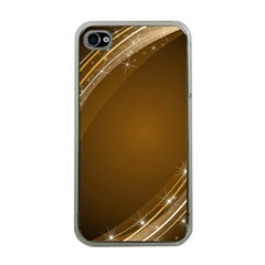 Abstract Background Apple Iphone 4 Case (clear)