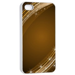 Abstract Background Apple Iphone 4/4s Seamless Case (white)
